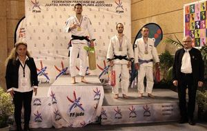 Sacha Margurite champion de France ne-waza